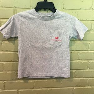 Southern Marsh Gray Kids Tee